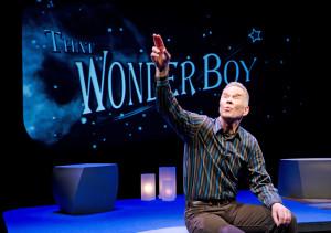 "Bob Stromberg in ""That Wonder Boy""."